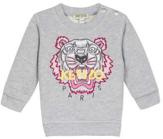 Kenzo Signature Tiger Sweatshirt, Size 6-18 Months