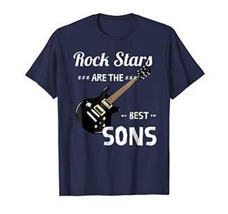 Rock Stars Son Rock Music Funny Birthday Men Gift T-Shirts