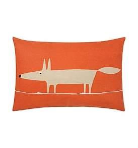Harlequin Mr Fox Cushion Red