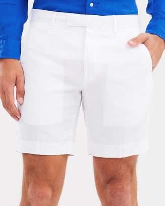 Polo Ralph Lauren Straight Fit Linen-Blend Shorts