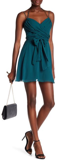 BCBGMAXAZRIABCBGMAXAZRIA Shay Silk Drape Dress