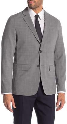 Theory Clinton Dove Two Button Notch Lapel Suit Separates Jacket