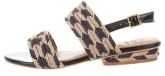 Tory Sport Jute Ankle Strap Sandals