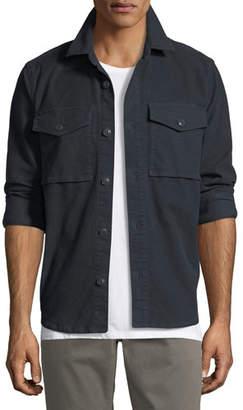 J Brand Men's Muttnik Twill Shirt Jacket