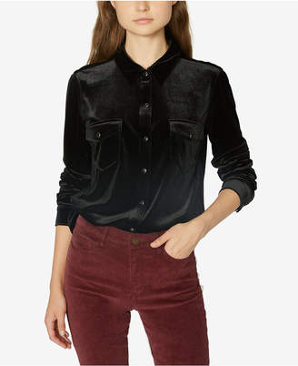 Sanctuary Velvet Blouse