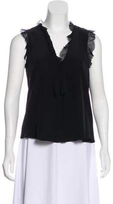 Alexis Silk Sleeveless Blouse w/ Tags