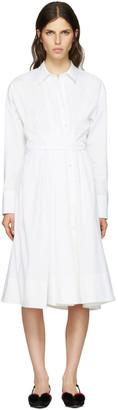 Emilio Pucci White Shirt Dress $1,420 thestylecure.com
