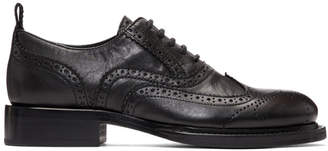 Ann Demeulemeester Black Canyon Wingtip Brogues