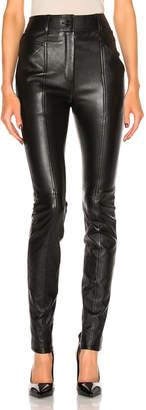 Saint Laurent Stretch Leather Leggings