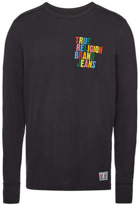 True Religion Cotton Long Sleeved Top