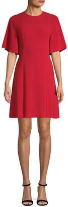 Sandro Women's Yoko Flutter-Sleeve A-line Dress