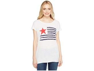 Allen Allen Star Flag Tee Women's T Shirt