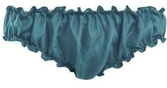 Loup Charmant - Bloomer Silk Briefs - Womens - Blue