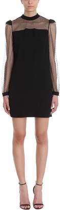 Givenchy Black Satin-backed Dress