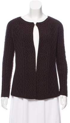 Theory Cashmere Cable Knit Cardigan