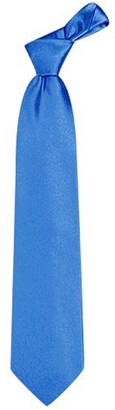 Forzieri Solid Smooth Extra-Long Pure Silk Tie