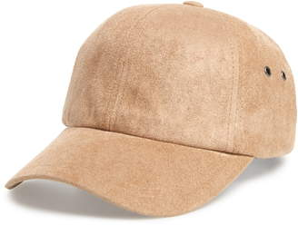 SWEAT ACTIVE Ultra Faux Suede Baseball Cap