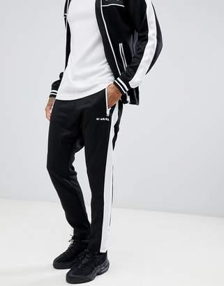 Diesel two-piece P-Ska side stripe sweatpants in black