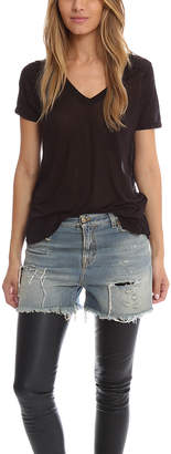 Alexander Wang V Neck Pocket Tee