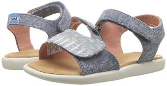 Toms Kids Strappy Girl's Shoes