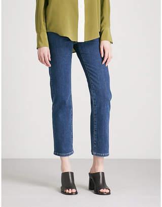 Joseph Den slim-fit-straight high-rise jeans