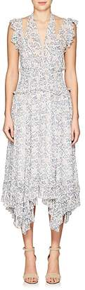 Ulla Johnson Women's Aviva Silk Georgette Maxi Dress