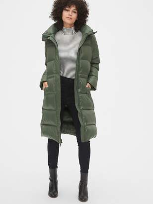 Gap Long Down High Shine Puffer Coat