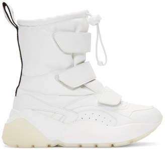 Stella McCartney White Eclypse Snow Boots