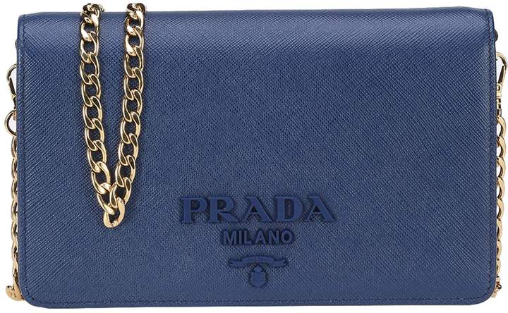 Prada Chain Clutch Bag