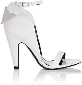 Calvin Klein Women's Leititia Python Sandals