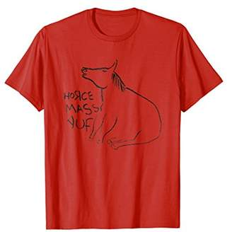 Official HORSE MASSAGE Band T-Shirt (Horce Massauf)