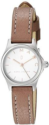Marc Jacobs Women's 'Henry' Quartz Stainless Steel and Leather Casual Watch