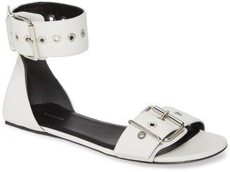 Balenciaga Ankle Strap Flat Sandal