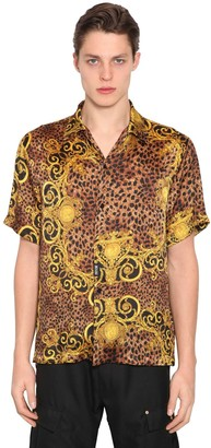 3075d498 Versace Mens Gold And Black Shirts - ShopStyle