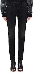 Off-White WOMEN'S EMBELLISHED SKINNY JEANS