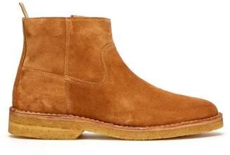 A.P.C. Timothe Suede Boots - Mens - Camel