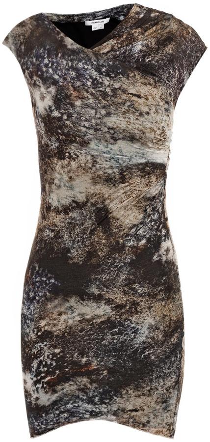 Helmut Lang Oxide-print dress