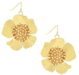 Jessica Simpson Garden Party Update Flower Drop Earrings