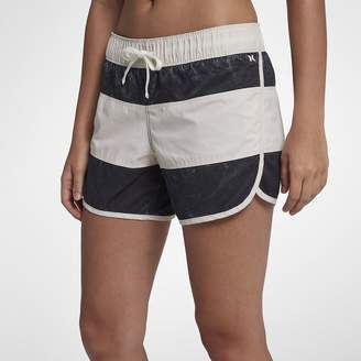 "Hurley Paneled Wash Beachrider Womens 5"" Board Shorts"