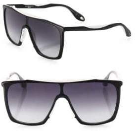 Givenchy 99MM Flat-Top Aviator Sunglasses