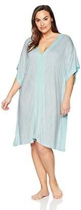 Arabella Women's Plus Size Midi Loungewear Caftan