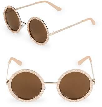 Fantas-Eyes FANTAS EYES Women's 58MM Round Sunglasses