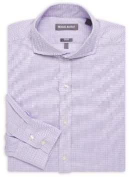 Michael Bastian Box Neat Cotton Dress Shirt