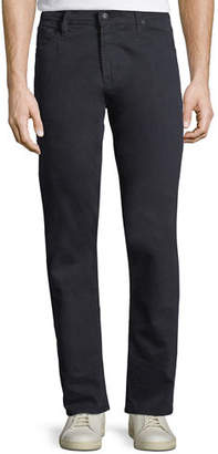 AG Jeans Ives Straight-Leg Twill Pants