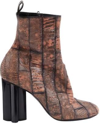 Louis Vuitton Python ankle boots