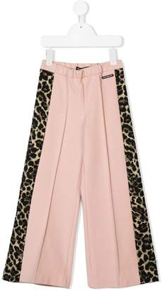 Marco Bologna Kids panelled flared trousers