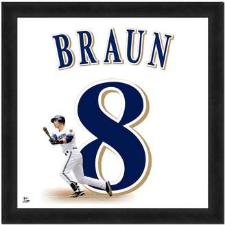 Braun Kohl's Ryan Framed Jersey Photo
