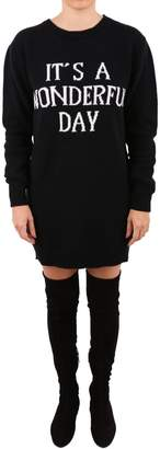 Alberta Ferretti Virgin Wool And Cashmere Dress