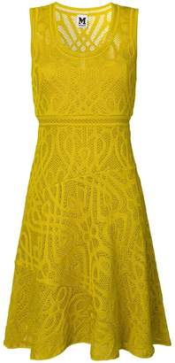 M Missoni V-neck knitted dress