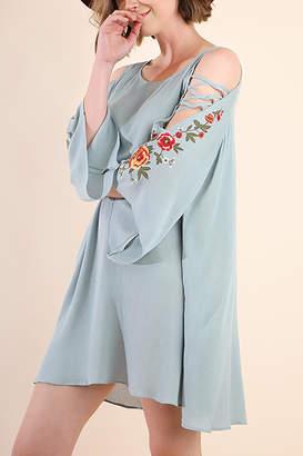 Umgee USA Floral Angel Sleeve